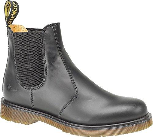 Nuevo Dr Martens 2976–59Chelsea Dealer botas de hombre Cuero superior Slip-On zapatos de Gents negro