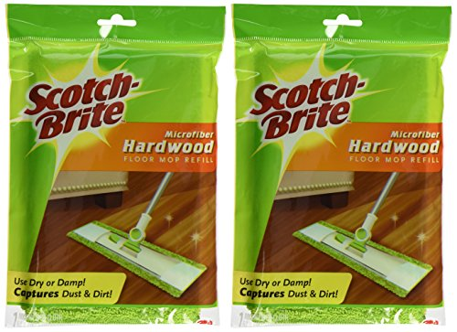 (Scotch-Brite Microfiber Hardwood Floor Mop)
