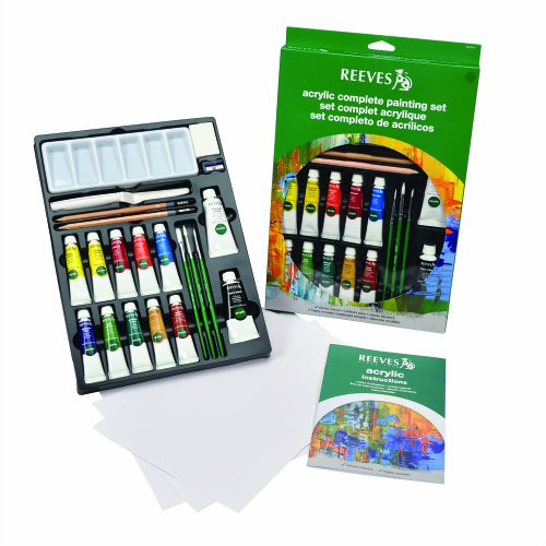 Reeves Acrylic Color Complete Set