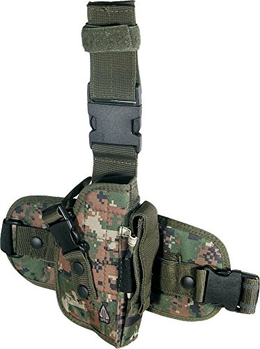 UTG Special Ops Universal Tactical Leg Holster, Woodland Digital Camo (Special Ops Gear compare prices)
