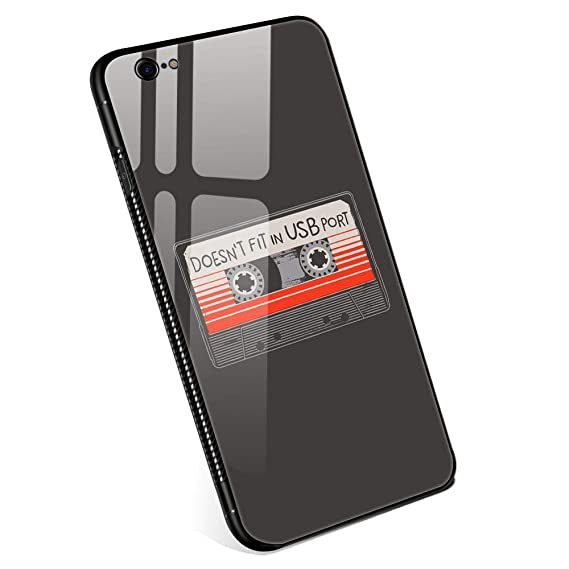 new product ef5b7 2c0b6 Amazon.com: iPhone 6 Cases, Doesn't Fit in USB Port Tempered Glass ...
