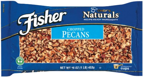 Fisher Pecans, Chopped, 16-Ounce Package