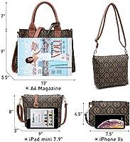 b8aceda81838 Womens M Signature Handbags Top Handle Satchel Studded Tote Purse ...