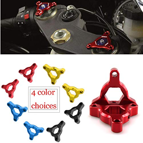 (CNC Aluminum Motorcycle 17MM Suspension Fork Preload Adjusters Fit For Yamaha YZF R6 99-04 / YZF R6 06-07 / Suzuki TL1000S 97-01 / TL1000R 98-03)