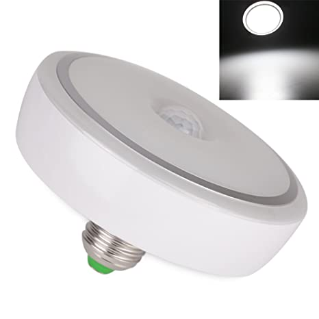 Amazon.com: FISHBERG E27 12W PIR Sensor de Movimiento Led ...