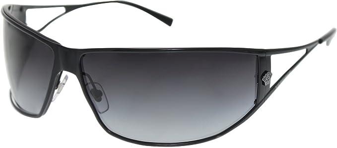 Gafas de Sol Versace VE2040 BLACK - GRAY GRADIENT: Amazon.es ...