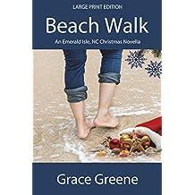 Beach Walk (Large Print): An Emerald Isle, NC Christmas Novella (Emerald Isle, NC Stories)