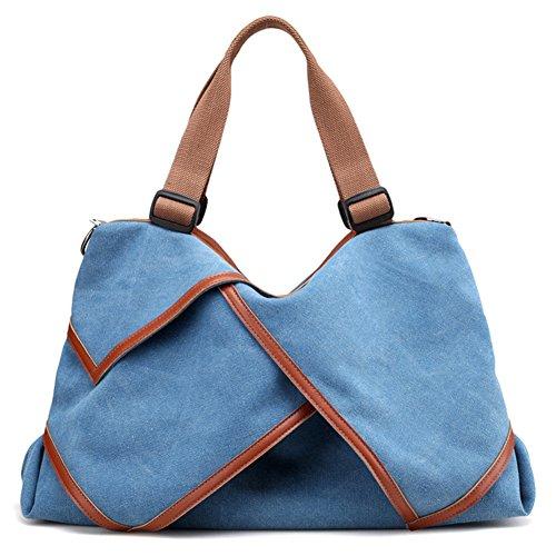 G-AVERIL - Bolso mochila para mujer Beige beige azul