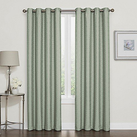 Darcy 95-Inch Blackout Grommet Top Window Curtain Panel in (Darcy Curtain)
