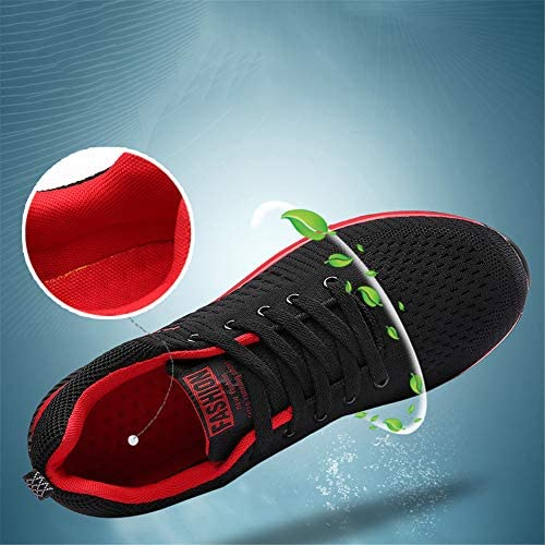 JHGK Hommes Chaussures, Sport Casual Chaussures De Marche Légère Confort Antiderapant Mode Chaussures De Course pour La Marche Jogging Fitness,42/260mm