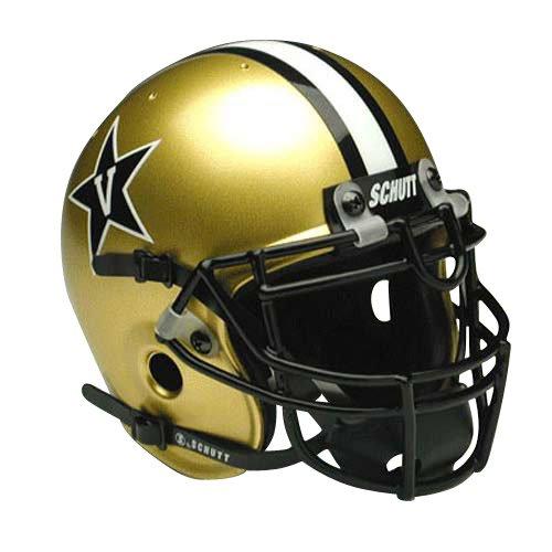 Schutt Vanderbilt Commodores Mini Helmet