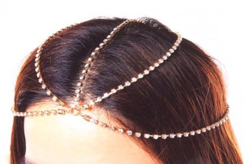 Head Chain - Gold color