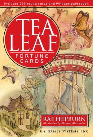 - US Games Tea Leaf Fortune Cards and Book. Full Size, Illustrated.