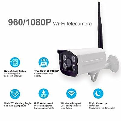 Asir Surveillance System Wireless Security Camera 960P WiFi Wireless IP Security Waterproof 1080P WiFi Wireless IP Security Waterproof IP Surveillance Camera Wireless IP Camera