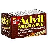 Advil® Migraine Pain Reliever Capsules - 80