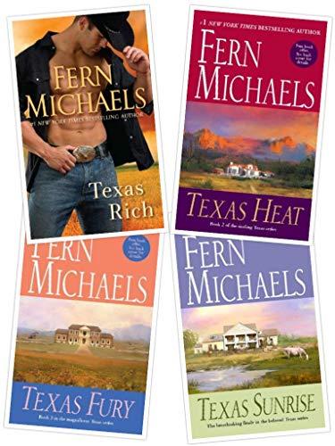 Fern Michaels Texas series boxed set: Texas Rich, Texas Heat, Texas Fury and Texas Sunrise