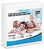 Utopia Bedding Hypoallergenic 100% Waterproof Mattress Protector - Vinyl Free