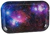 Galaxy Metal Rolling Tray - 7.5'' x 11.25''