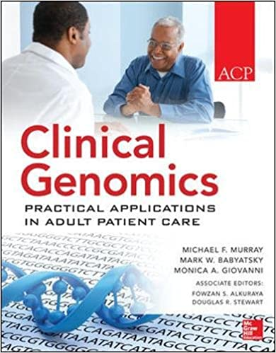 Book Clinical Genomics: Practical Applications for Adult Patient Care