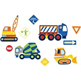Wall Pops WPK0616 Construction Zone Wall Decals