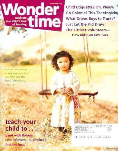 Wonder Time Magazine - November 2007 - Thanksgiving Dinner Redux PDF