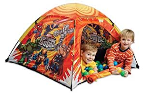 Marvel Super Hero Squad Ball Pit Tent with 24 Ball Pit Balls
