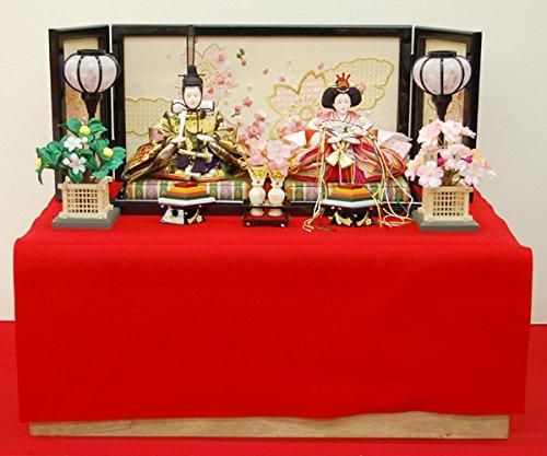 雛人形収納 親王飾り 平飾り ミニ コンパクト   B00PRK4N9C