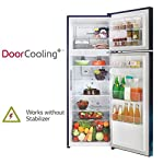 LG 308 L 2 Star Smart Inverter Frost-Free Double Door Refrigerator (GL-T322RBCY, Blue Charm, Convertible Plus)