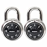 Combination Lock, Stainless Steel, 1