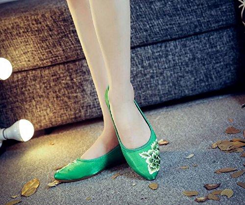 Lazutom Ballerine donna Lazutom donna Green Ballerine Green Lazutom Ballerine Iqd5q