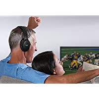 Sharper Image TV Wireless Headphones - Silver