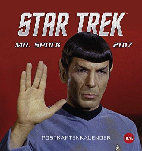 Star Trek Postkartenkartenkalender - Kalender 2017