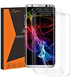 S8 Plus Screen Protector [4-Pack], Peyou [Full Coverage] HD Film Screen Protector for Samsung Galaxy S8 Plus, Ultra High Definition Invisible, Easy-to-install Design & Anti-Bubble