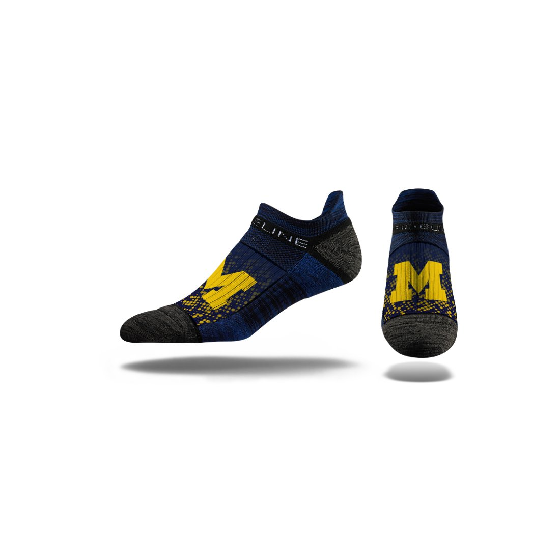 Strideline NCAA Premium Athletic Ankle Socks White One Size C126822
