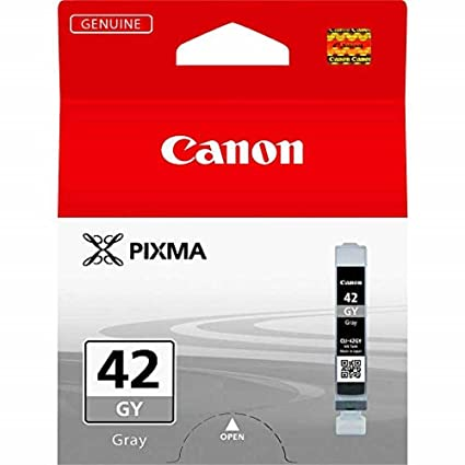 Canon CLI-42 GY Cartucho de tinta original Gris para Impresora de Inyeccion de tinta Pixma PRO100-PRO100S