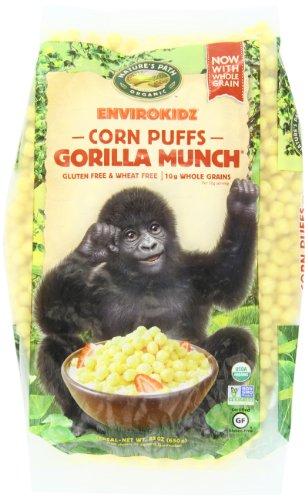 Envirokidz Organic Gorilla Munch Enviropakz, 23-Ounce - Envirokidz Gorilla Organic