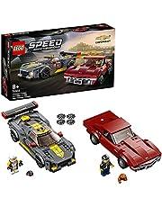 LEGO Speed Champions 76903 Samochód wyścigowy Chevrolet Corvette C8.R i 1968 Chevrolet Corvette (512 elementów)