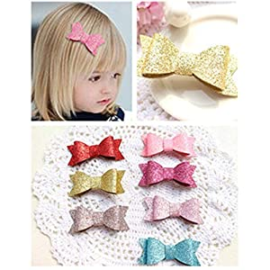 Baby Girls Headbands Boutique Bling Sparkly Sequin Headband Elastic Hair Bands Hair Accessories for Toddlers Newborns