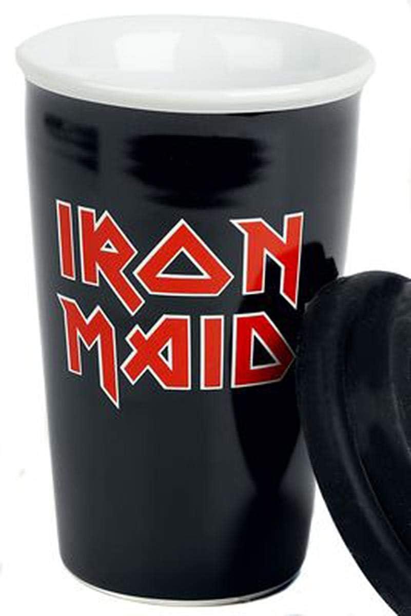 Logo Close Up Tazza da Viaggio Iron Maiden