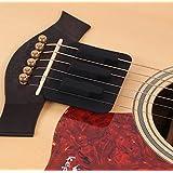 【slowhand】サウンドホールカバー ギター 弱音器 ミュート 消音 夜間練習用 (弱音器)