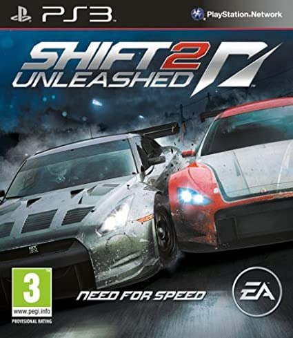 Need for Speed: Shift 2 Unleashed (PS3) at amazon
