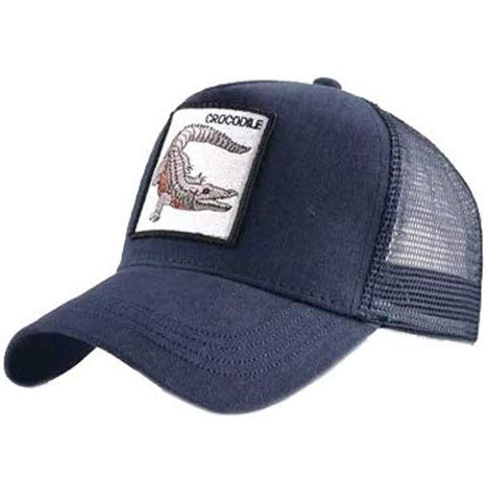 Gorra Visera Curva Trucker Animal Cocodrilo Azul: Amazon.es: Ropa ...