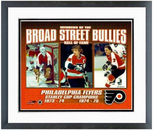 "Philadelphia Flyers Broad Street Bullies Photo (Size: 12.5"" x 15.5"") Framed"