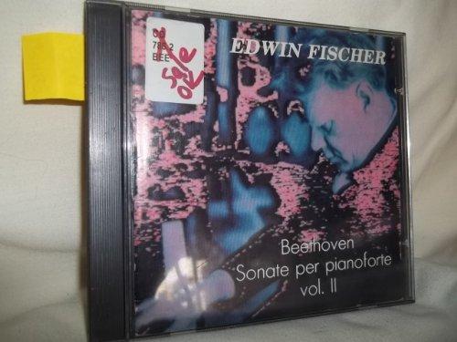 Edwin Fischer Beethoven Sonate Per Pianoforte Vol. 2 Audio Cd
