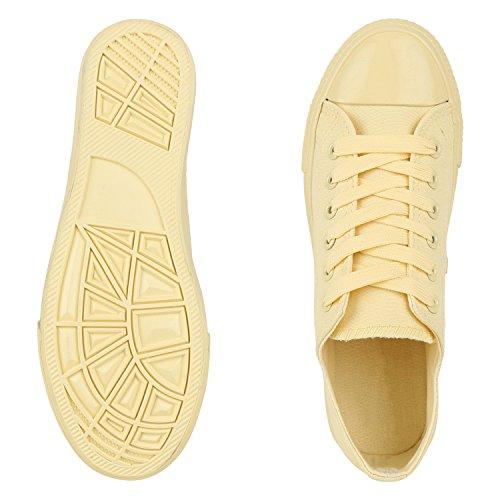 Best-botas para mujer zapatilla zapatillas zapatos de cordones estilo deportivo Gelb Neu Nuovo
