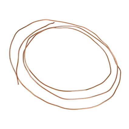 Copper Tubing for Refrigeration Plumbing Pipe OD 3mm x ID 2mm Dewin 2M Soft Copper Tube