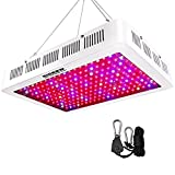 HIGROW 2000W Double Chips LED Grow Light Full Spectrum Grow Lamp with Rope Hanger for Indoor Greenhouse Hydroponic Plants Veg and Flower