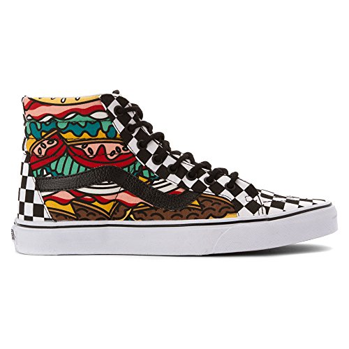 Hombre de zapatillas Vans SK8 HI Reissue Sneakers (late night) burger/check