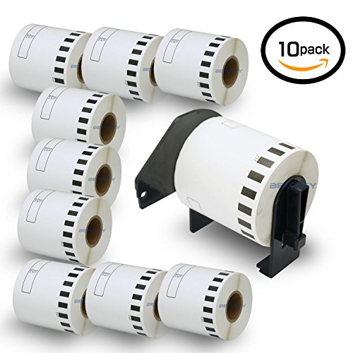 (10 Rolls Brother-Compatible DK-2212 62mm15.2m(2-3/7