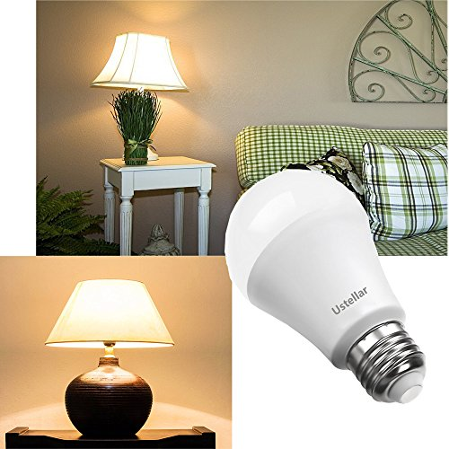From usa ustellar 18 pack a19 e26 led bulbs 60w for Living room 2700k or 3000k